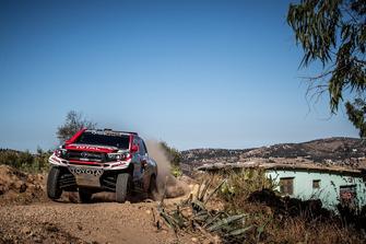 #306 Toyota Gazoo Racing South Africa Toyota: Nasser Al Attiya, Mathieu Baumel