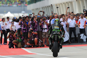 Il terzo classificato Johann Zarco, Monster Yamaha Tech 3