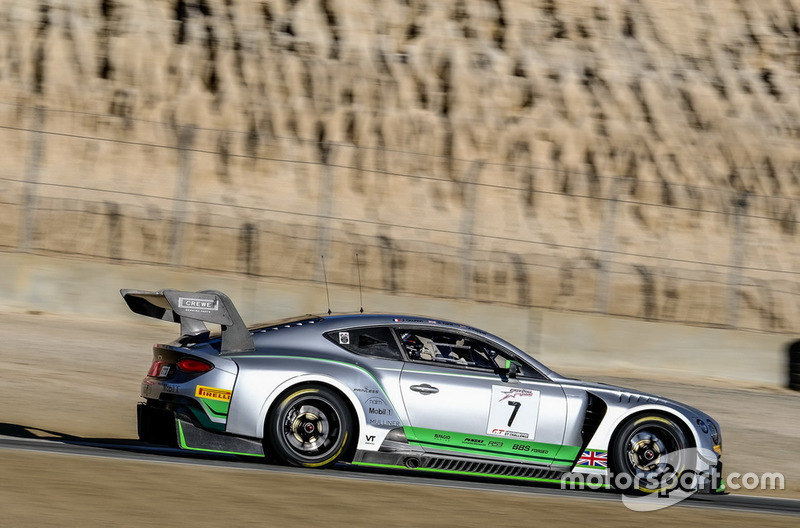 #7 Bentley Team M-Sport Bentley Continental GT3: Jordan Pepper, Jules Gounon, Steven Kane