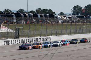Denny Hamlin, Joe Gibbs Racing, Toyota Camry FedEx Ground Ricky Stenhouse Jr., Roush Fenway Racing, Ford Fusion SunnyD