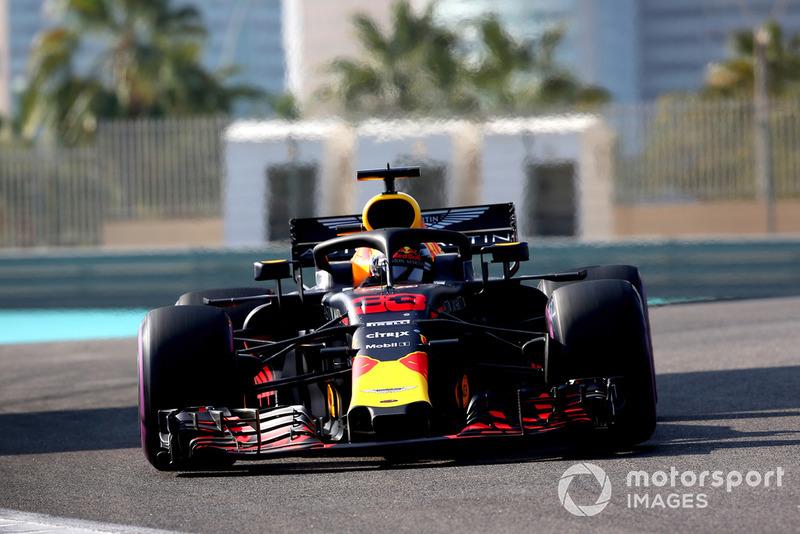 Max Verstappen in der Saison 2018