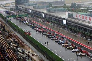 La grille WEC à Shanghai