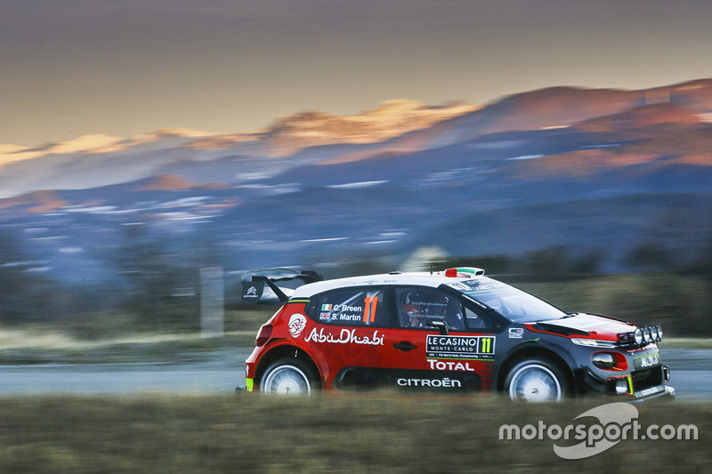 Craig Breen, Scott Martin, Citroën C3 WRC, Citroën World Rally Team