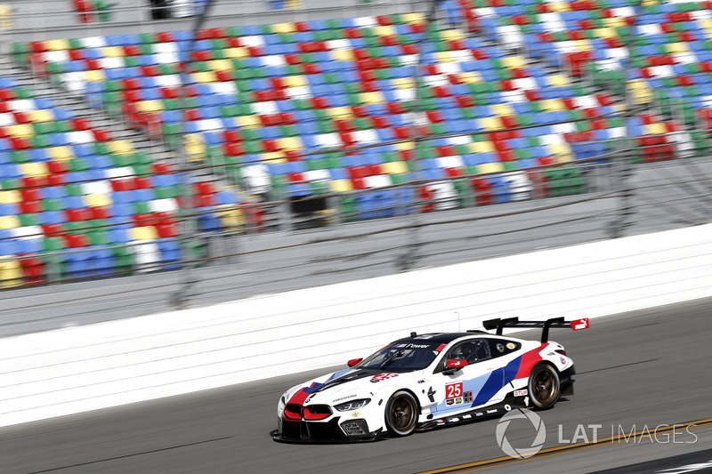 28.- #25 BMW Team RLL BMW M6 GTLM: Alexander Sims, Connor De Phillippi, Bill Auberlen, Philipp Eng
