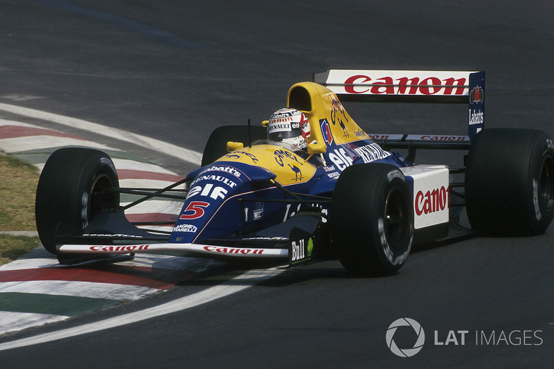 1992 (Nigel Mansell, Williams-Renault FW14B)