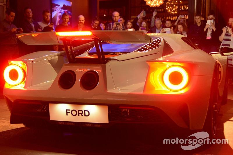 Європейська версія Ford GT