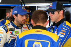 Chase Elliott, Hendrick Motorsports, Chevrolet Camaro NAPA Auto Parts and crew chief Alan Gustafson