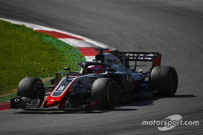 Haas, la cuarta fuerza en las Q3