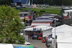 Red Bull Ring paddock construction