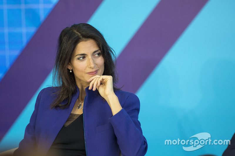 Mayor of Rome Virginia Raggi