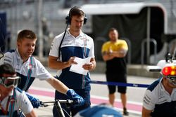 Paul Walker, the Human Performance Specialist of the Williams F1 Team