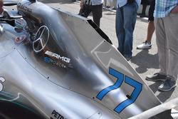 Mercedes AMG F1 W09 capucha