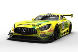 #84 Mercedes-AMG Team HTP Motorsport MANN-FILTER Mercedes-AMG GT3: Gary Paffett, Edoardo Mortara, Renger van der Zande