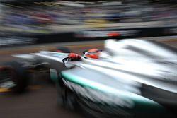 Mónaco 2012, Michel Schumacher, Mercedes