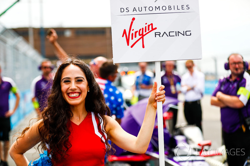 Sam Bird, DS Virgin Racing, grid kızı