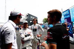 Lucas di Grassi, Audi Sport ABT Schaeffler, Sam Bird, DS Virgin Racing, Alex Lynn, DS Virgin Racing, Tom Dillman, Venturi Formula E
