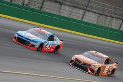 Daniel Suarez, Joe Gibbs Racing, Toyota Camry ARRIS Darrell Wallace Jr., Richard Petty Motorsports, Chevrolet Camaro Petty's Garage / Medallion Bank