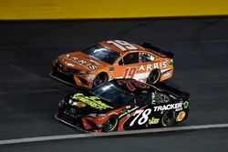 Martin Truex Jr., Furniture Row Racing, Toyota Camry 5-hour ENERGY/Bass Pro Shops, Daniel Suarez, Joe Gibbs Racing, Toyota Camry ARRIS