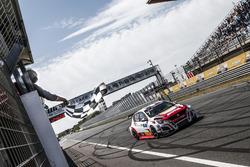 Race winner Aurélien Comte, DG Sport Competition Peugeot 308TCR