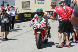 Eugene Laverty, Milwaukee Aprilia celebration