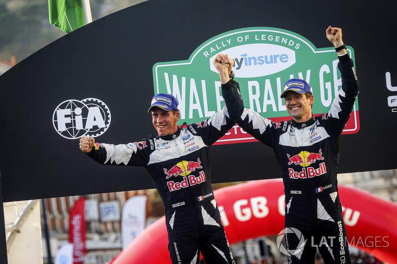 Sébastien Ogier y Julien Ingrassia, campeones del mundial de rallies (WRC) 2017