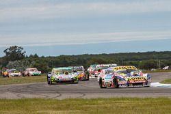 Martin Serrano, Coiro Dole Racing Chevrolet, Nicolas Gonzalez, A&P Competicion Torino, Matias Rossi, Nova Racing Ford