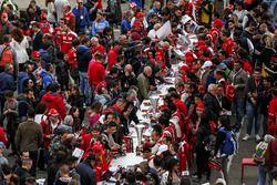 Fans at autograph session