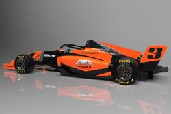 Peluncuran mobil Formula 3 Mygale