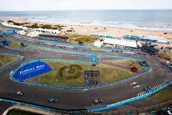 Luca Filippi, NIO Formula E Team, Mitch Evans, Jaguar Racing, Nelson Piquet Jr., Jaguar Racing., Edo