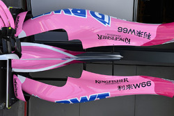 Force India VJM11 bodywork detail
