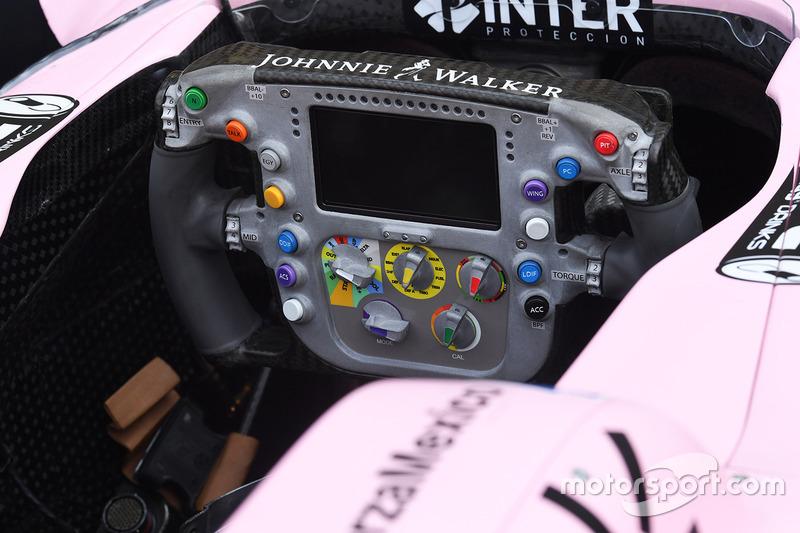 Sahara Force India VJM10 direksiyon