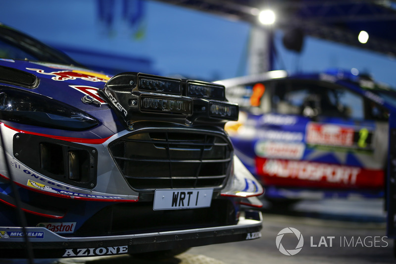Ford Fiesta WRC Себастьена Ожье и Жюльена Инграссиа
