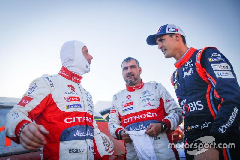 Sébastien Loeb , Daniel Elena, Citroën World Rally Team, Dani Sordo, Hyundai Motorsport