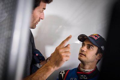 Pedrosa y Cairoli Toro Rosso Run