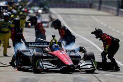 Robert Wickens, Schmidt Peterson Motorsports Honda pit stop