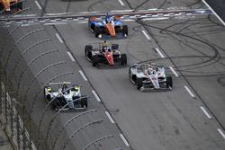 Max Chilton, Carlin Chevrolet, Will Power, Team Penske Chevrolet, Robert Wickens, Schmidt Peterson M