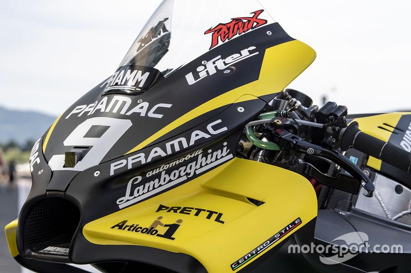 La livrée spéciale Lamborghini de Pramac Racing