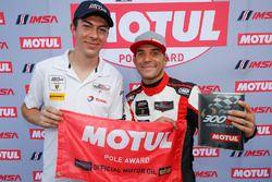 Motul Pole Award winner #48 Paul Miller Racing Lamborghini Huracan GT3, GTD: Madison Snow, Bryan Sel