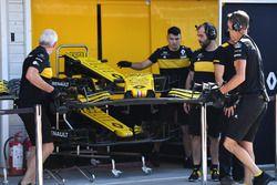 Renault Sport F1 Team voorvleugel