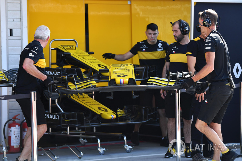 Renault Sport F1 Team front wing