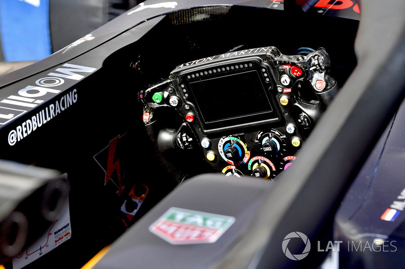 Red Bull Racing RB14 steering wheel