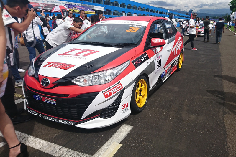 Haridarma Manoppo, Toyota Team Indonesia, ITCC 1600 Max