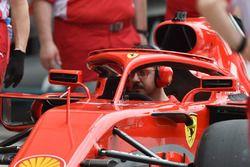 Mecánico de Ferrari en Ferrari SF71H