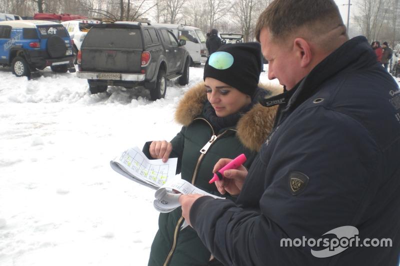 Вивчення Легенди перед гонкою - Ірина Павлик та Анатолій Зеленський