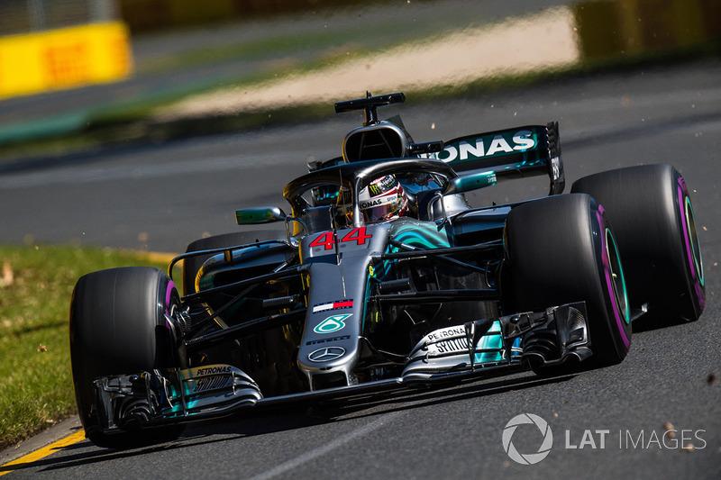 2. Lewis Hamilton, Mercedes-AMG F1 W09 EQ