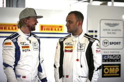 #11 TF Sport Aston Martin V12 Vantage: Nicki Thiim, #17 TF Sport Aston Martin V12 Vantage GT3: Marco Sorensen