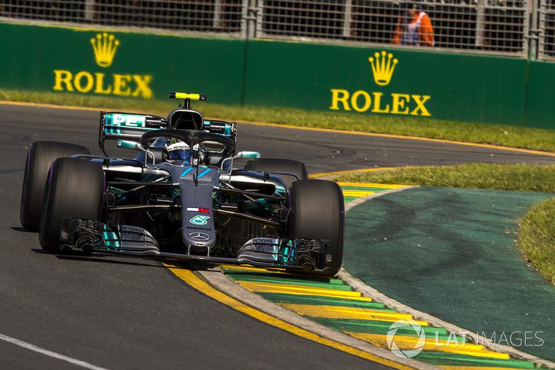 15. Valtteri Bottas, Mercedes-AMG F1 W09 *