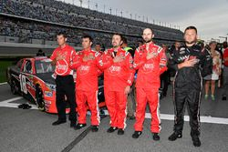 Ryan Preece, Joe Gibbs Racing, Toyota Camry Rheem crew