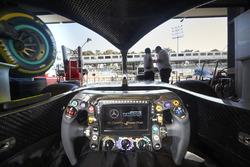 Mercedes AMG F1 W09 cockpit