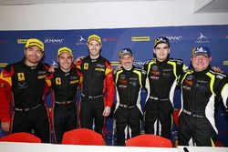#66 JMW Motorsport Ferrari F488 GTE: Liam Griffin, Alex MacDowall, Miguel Molina, #15 RLR Msport Ligier JS P3 - Nissan: John Farano, Job Van Uitert, Robert Garofall